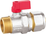 Brass Ball Valve with Aluminum Handle BV-1420 M/F