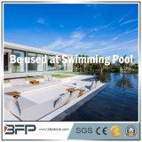 Het zwarte Zwembad van het Graniet/Pool die/het Zwemmen voor Vloer/Pool omringen bedekken het hoofd bieden