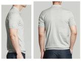 Camisa 2016 de polo impresa bordada promocional de los hombres del OEM claramente