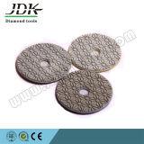 Пусковые площадки диаманта шага Jdk 3 гибкие полируя для гранита и Mrarble