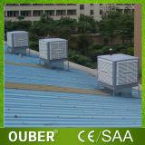 refrigerador de aire evaporativo industrial del refrigerador del desierto de 18000m3/H la Arabia Saudita con Saso