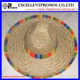 Gorra de béisbol promocional del algodón de la insignia del bordado (EP-S3017)