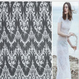 Tela do laço do bordado de matéria têxtil de Wanhua