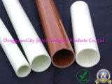 Tubo antiestático y no tóxico de la fibra de vidrio