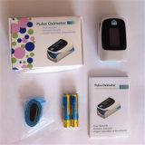 Sentidos portáteis do monitor 4 do sensor do grampo SpO2 do indicador de OLED ponta do dedo Handheld dos mini