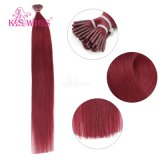 K.S Wigs 7A Grade Full Ending 브라질 Hair I TIP Keratin Hair Extension