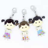 Neues Arrival Wholesale Alloy 3D Boys und Girls Enamel Charms für Teen