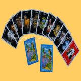 Карточки покера играя карточек гильзовой бумага полного цвета голубые