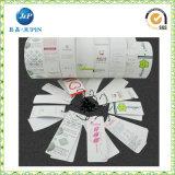 Étiquette de coup de Contoh de papier des prix les plus inférieurs (JP-HT059)