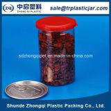 650ml Pet Food Recipiente de plástico con tapa de plástico