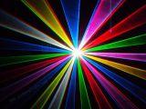 laser da animação de 2W RGB para o Natal