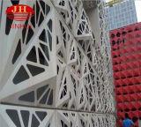 El exterior del hueco de aluminio de la fachada por la pared de cortina (JH223)