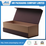 Hight Quality Texture Gift Paper Wrapper Wine Box con Magnetic Closure o per Jewelry Packaging
