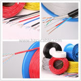 4 lan Cable di accoppiamenti UTP CAT6 con Power Wires (2DC)