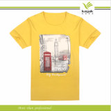 Customzied Round Neck Fashion Men Printed Tee Shirts (ky t016004)