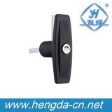 産業ドアハンドルの金属のキャビネットのハンドルおよび電気パネルのハンドルロック(YH9683)
