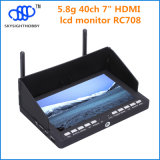 Skysight New Product RC708 5.8g 40CH 7 Inch HDMI Fpv Monitor voor Dji Phantom, Inspire 1 en Drones