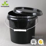 [12ل] دلو بلاستيكيّة/[بلك دروم]/سطح/وعاء صندوق, [أيل برّل] بلاستيكيّة, دلو بلاستيكيّة مع تغطية