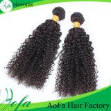 Stock верхние волосы девственницы ранга 100% Unprocessed монгольские Kinky курчавые