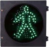 200mm 보행자 신호 Greenman LED 번쩍이는 신호등
