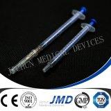 Siringhe di plastica dell'iniezione delle 3 parti con o senza gli aghi