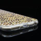 De nieuwe Cel van het Geval van de Telefoon van het Geval van Golder TPU van de Aankomst Modieuze/de Mobiele Dekking van de Telefoon voor iPhone 6