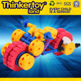 3+ Childrenのための教育Building Block Car Toy