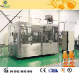 GlasBottling 3 in 1 Automatic Fruit Juice Filling Machine/Hot Filling Line