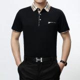 刺繍のロゴの非常に高品質の100%年の綿のポロシャツ