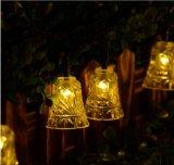 Jingle колокол Lh-Ss12 света шнура рождества Нов-Года венчания солнечной силы 20-LED