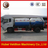 16ton Vacuum Sewage Suction Truck mit Cleaning Tank