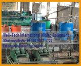 Separação de centrifugador do concentrador do ouro da rocha