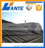 Mattonelle di tetto d'acciaio di alluminio rivestite di pietra della Nigeria per materiale da costruzione