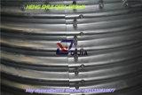 Tubo d'acciaio del piatto del ponticello ondulato dell'arco