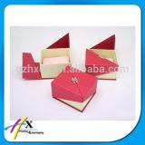 OEM 최신 각인 선물 보석 고정되는 상자 종이 포장 종이 보석함