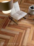 azulejo de suelo de madera del grano de la inyección de tinta 3D 180*1080 Rd108b024