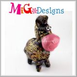 Banco Piggy da decoração do Sell da parte superior dos ofícios da cerâmica para a venda por atacado da menina