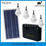 kit a energia solare di illuminazione di CC 8W con il caricatore mobile
