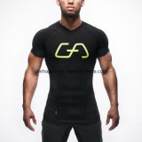 Impression rapide à la mode V-Neck Homme T-shirt Sports Wear