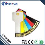 Stokken 2.0 van de Vorm USB van het metaal Materiële Zeer belangrijke 8GB 16GB 32GB de Promotie Kleurrijke Zeer belangrijke Aandrijving van de Flits USB