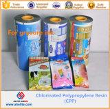 Resina de polipropileno clorado Resina de CPP para tintas de gravação de tinta de tinta
