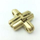 Скрынное дверью незримое перекрестное золото сплава цинка шарнира Xh-001