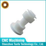 Parti di plastica lavorate CNC di abitudine, POM/ABS bianco, prodotti di plastica