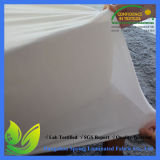 Protecteur imperméable à l'eau de matelas de diamant de polyester de bâti d'édredon grand blanc d'insecte