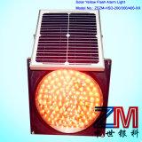 Lâmpada de advertência de advertência de piscamento psta solar da luz do amarelo do estilo novo/diodo emissor de luz