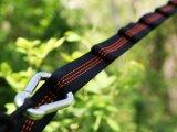 Único e Hammock de acampamento dobro - o nylon do pára-quedas, inclui cordas & porta Carabiners do fio