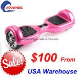 Motorino d'equilibratura di auto nel magazzino Hoverboard poco costoso $100 degli S.U.A. sulla vendita! !