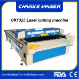 Máquinas de estaca acrílicas do CNC do laser da madeira compensada de Ck1325 25mm na madeira