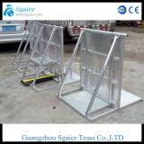 Cerca de aluminio, barricada del control de acceso, sistema que parquea, barrera del Anti-Alboroto