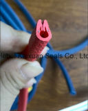 Tira de guarnição flexível do PVC da afiação da canaleta em U para a porta de carro
